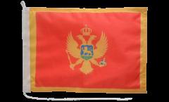 Bootsfahne Montenegro - 30 x 40 cm