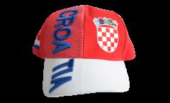 Cap / Kappe Kroatien rot-weiß, nation