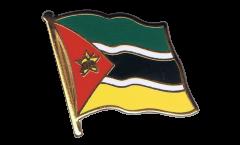 Flaggen-Pin Mosambik - 2 x 2 cm