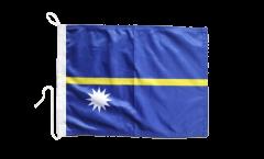 Bootsfahne Nauru - 30 x 40 cm