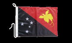 Bootsfahne Papua-Neuguinea - 30 x 40 cm