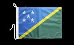 Bootsfahne Salomonen Inseln - 30 x 40 cm