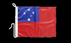Bootsfahne Samoa - 30 x 40 cm