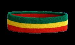 Stirnband Äthiopien ohne Wappen, Rasta - 6 x 21 cm