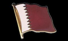 Flaggen-Pin Katar - 2 x 2 cm
