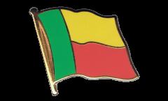 Flaggen-Pin Benin - 2 x 2 cm