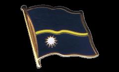 Flaggen-Pin Nauru - 2 x 2 cm