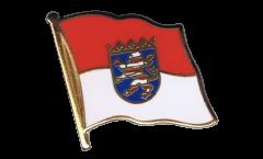 Flaggen-Pin Deutschland Hessen - 2 x 2 cm