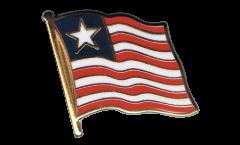 Flaggen-Pin Liberia - 2 x 2 cm