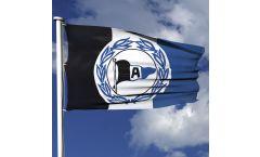 Hissflagge Arminia Bielefeld Wappen - 100 x 150 cm