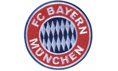 Aufnäher FC Bayern München Emblem - 8 x 8 cm