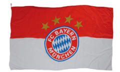 Hissflagge FC Bayern München Logo - 150 x 250 cm