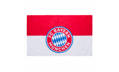 Flagge FC Bayern München Logo - 60 x 90 cm