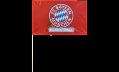 Stockflagge FC Bayern München Basketball - 40 x 60 cm