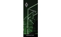 Bannerflagge Borussia Mönchengladbach Borussia Park  - 45 x 116 cm