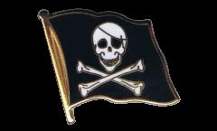 Flaggen-Pin Pirat - 2 x 2 cm