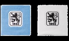Schweißband TSV 1860 München, 2er Set - 8 x 9 cm