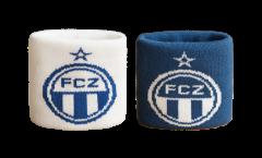 Schweißband FC Zürich, 2er Set - 7 x 8 cm