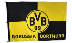 Hissflagge Borussia Dortmund Karo - 120 x 180 cm
