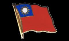 Flaggen-Pin Taiwan - 2 x 2 cm