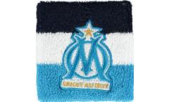 Schweißband Olympique Marseille Logo, 2er Set - 8 x 9 cm