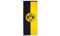 Hissflagge Borussia Dortmund Emblem - 150 x 400 cm
