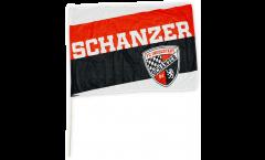 Stockflagge FC Ingolstadt 04 Schanzer - 60 x 90 cm