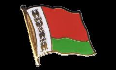 Flaggen-Pin Weißrussland (Belarus) - 2 x 2 cm