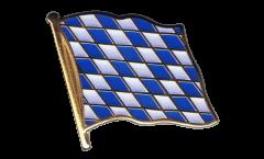 Flaggen-Pin Deutschland Bayern ohne Wappen - 2 x 2 cm