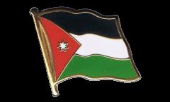 Flaggen-Pin Jordanien - 2 x 2 cm