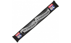 Schal Olympique Lyon Black - 130 cm
