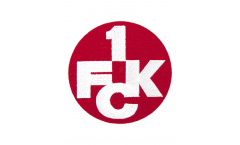 Aufnäher 1. FC Kaiserslautern Logo - ca. 6 cm