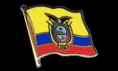 Flaggen-Pin Ecuador - 2 x 2 cm