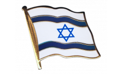 Flaggen-Pin Israel - 2 x 2 cm
