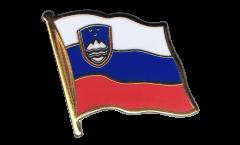 Flaggen-Pin Slowenien - 2 x 2 cm