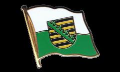 Flaggen-Pin Deutschland Sachsen - 2 x 2 cm