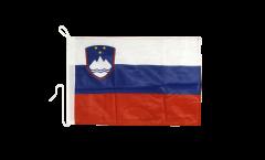 Bootsfahne Slowenien - 30 x 40 cm