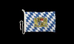 Bootsfahne Deutschland Bayern mit Löwe - 30 x 40 cm