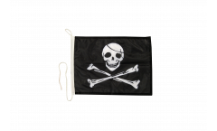 Bootsfahne Pirat - 30 x 40 cm