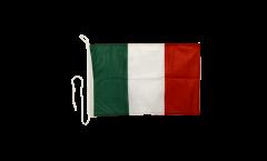 Bootsfahne Italien - 30 x 40 cm