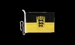 Bootsfahne Deutschland Baden-Württemberg - 30 x 40 cm