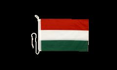 Bootsfahne Ungarn - 30 x 40 cm