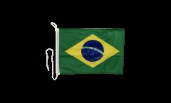 Bootsfahne Brasilien - 30 x 40 cm