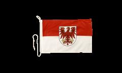 Bootsfahne Deutschland Brandenburg - 30 x 40 cm