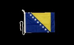 Bootsfahne Bosnien-Herzegowina - 30 x 40 cm