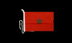 Bootsfahne Marokko - 30 x 40 cm