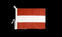 Bootsfahne Österreich - 30 x 40 cm