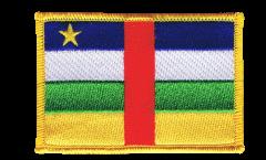 Aufnäher Zentralafrikanische Republik - 8 x 6 cm