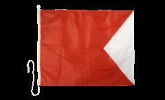 Signalflagge Bravo (B) - 75 x 90 cm