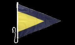 Signalflagge Hilfsstander 1 - 60 x 90 cm